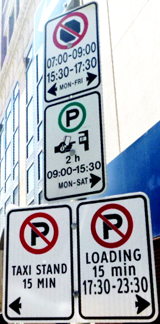 Parking Sign Image